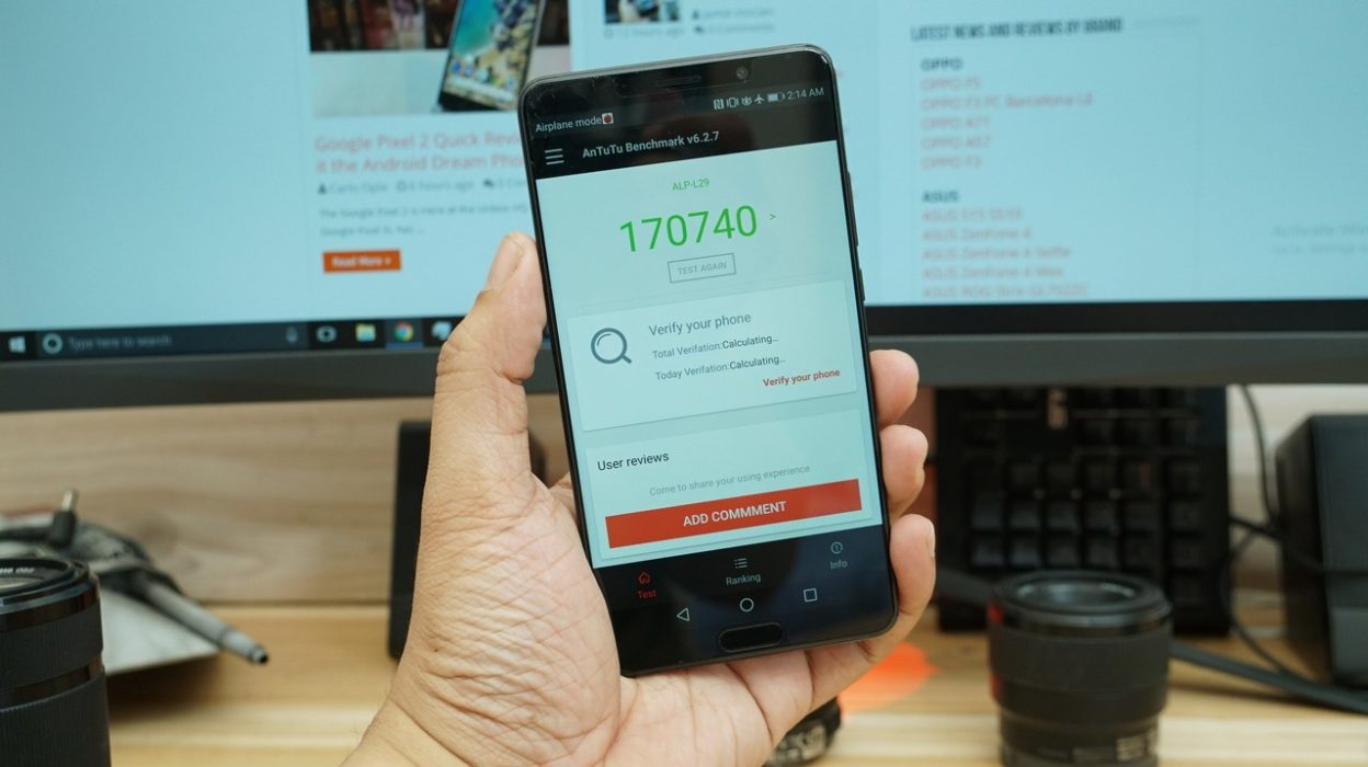 معالج هاتف Huawei Mate 10